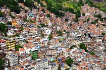 Favela Rocinha din Rio de Janeiro
