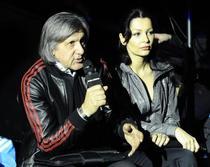 Ilie Nastase si Brigitte Sfat