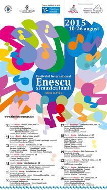 'Enescu si Muzica Lumii' Sinaia 2015
