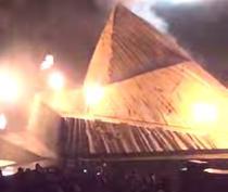 """Vulcanul"" din turneul Yeezus"
