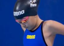 Alzain Tareq, cea mai tanara participanta din istoria campionatelor mondiale de natatie