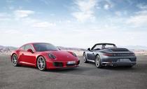 Porsche 911 Carrera S Coupe si Porsche 911 Carrera Cabriolet