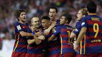 Barca, victorie importanta pe Vicente Calderon