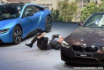 Seful BMW, Harald Kruger, a lesinat pe scena la Frankfurt