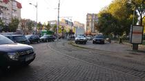 Masini in Piata Sf Gheorghe