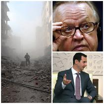 Martti Ahtisaari, Bashar al-Assad si urmele razboiului din Siria