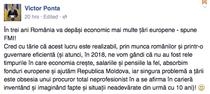 Victor Ponta l-a atacat pe Facebook pe procurorul ce l-a cercetat