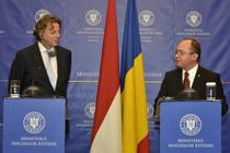Ministrul de externe olandez Bert Koenders s-a intalnit cu Bogdan Aurescu