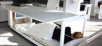 Biroul care se transforma in pat