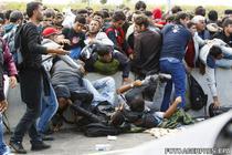 Migranti - busculada la granita ungaro-austriaca