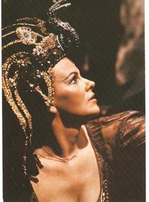 Viorica Cortez in rolul Cleopatrei (1974)
