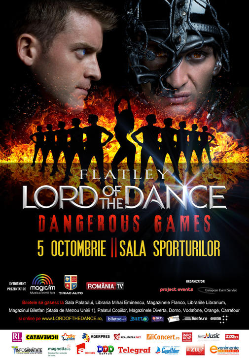 Afis Lord Of The Dance Constanta