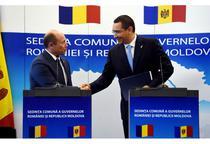 Valeriu Strelet si Victor Ponta