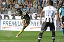 Mario Balotelli, gol cu Udinese