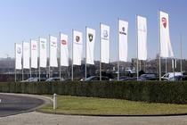Marcile grupului Volkswagen