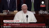 Papa Francics in fata Congresului SUA