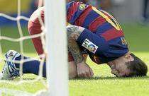 Lionel Messi, accidentat in meciul cu Las Palmas