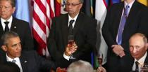 Barack Obama si Vladimir Putin, la New York