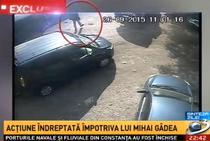 Imagini surprinse in parcarea Antenei 3