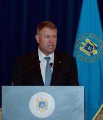 Klaus Iohannis la conferinta din 27 august 2015