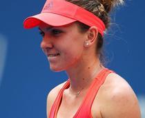 Simona Halep, la US Open