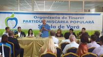 Traian Basescu, la scoala de vara a PMP