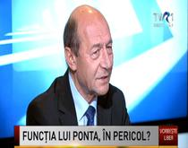 Traian Basescu la TVR