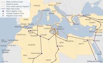 Rutele refugiatilor - BBC&iMap