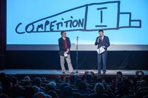 Thierry Garrel si Ionut Vulpescu la AFF 2015