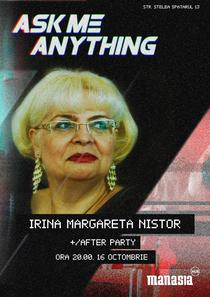 Irina Margareta Nistor- afis