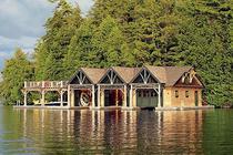 Cabana din Muntii Adirondack