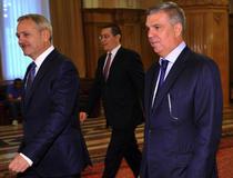 Liviu Dragnea, Valeriu Zgonea si Victor Ponta