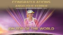 Angelique Kerber, la Turneul Campioanelor