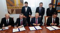 Semnarea protocolului la Ministerul Educatiei