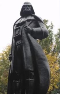 Darth Vader, in Odessa