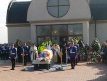 Inmormantarea politistului Bogdan Gigina
