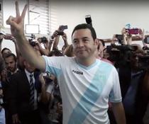 Jimmy Morales, fost comediant, a castigat cu un scor de 68% prezidentialele din Guatemala