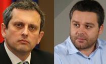 Valentin Lazea, economist sef BNR i Ciprian Ciucu, director CRPE