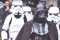 Personaje Star Wars la alegerile locale din Ucraina