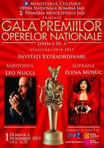 Gala Operelor Nationale Iasi 2015