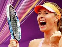 Maria Sharapova, la Turneul Campioanelor