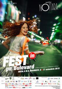 Afis Festin pe Bulevard