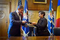 Gabriel Oprea s-a intalnit cu procurorul general al SUA, Loretta Lynch