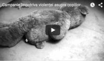 Campanie impotriva violentei asupra copiilor