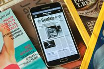 Pagina fictiva a unui ziar real