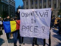 In centrul Bucurestiului se aduna si alte persoane pentru un nou mars 2
