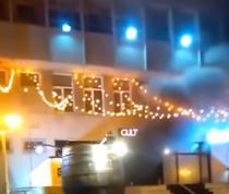 Incendiu intr-un club din Constanta
