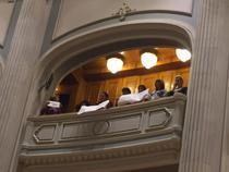 Sindicalisti la Parlament sustin salariile marite