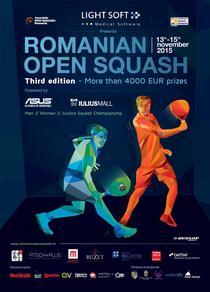 Romanian Open Squash 2015