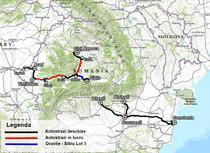 Autostrazile in constructie in Romania - noiembrie 2015